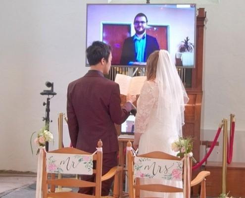 Livestream huwelijk