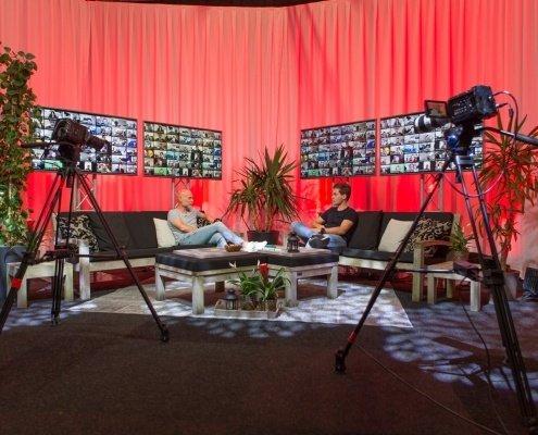 Livestream en webinar studio - Supergaaf