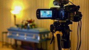 Livestream van uitvaart