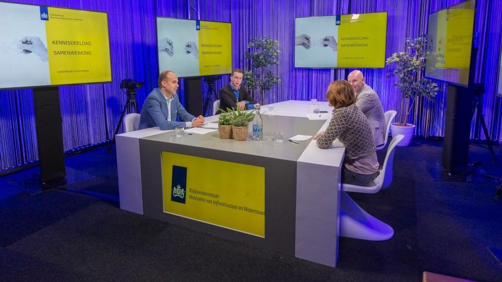 Rijkswaterstaat webinar uit onze studio